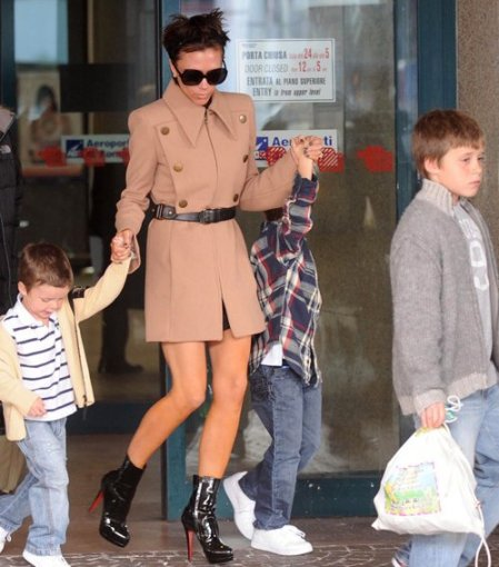 victoria beckham et ses enfants