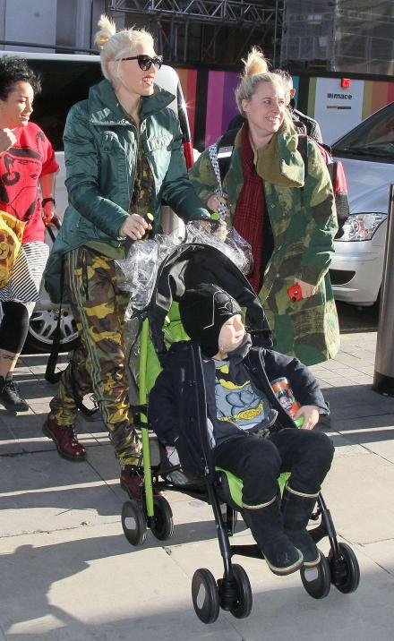gwen stefani et ses enfants