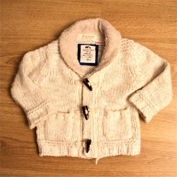 gilet en laine bébé
