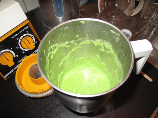 légumes mixés
