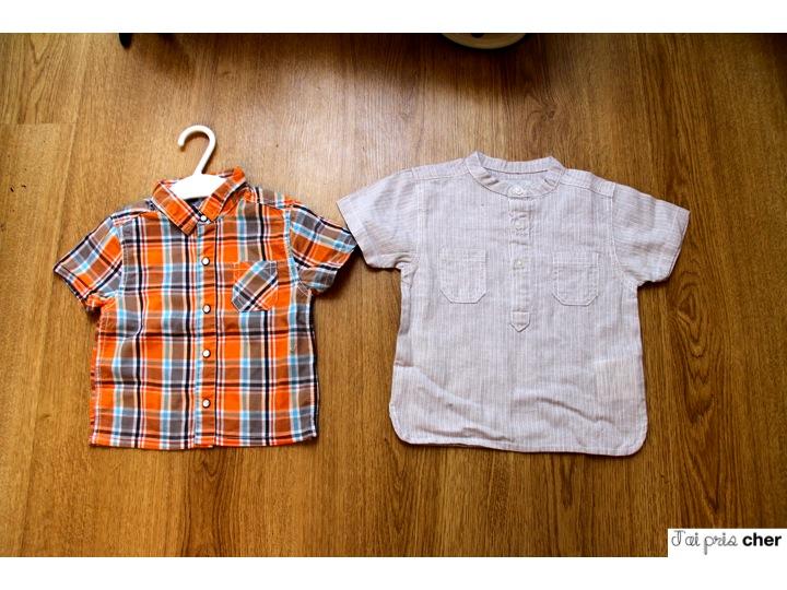 chemise bébé