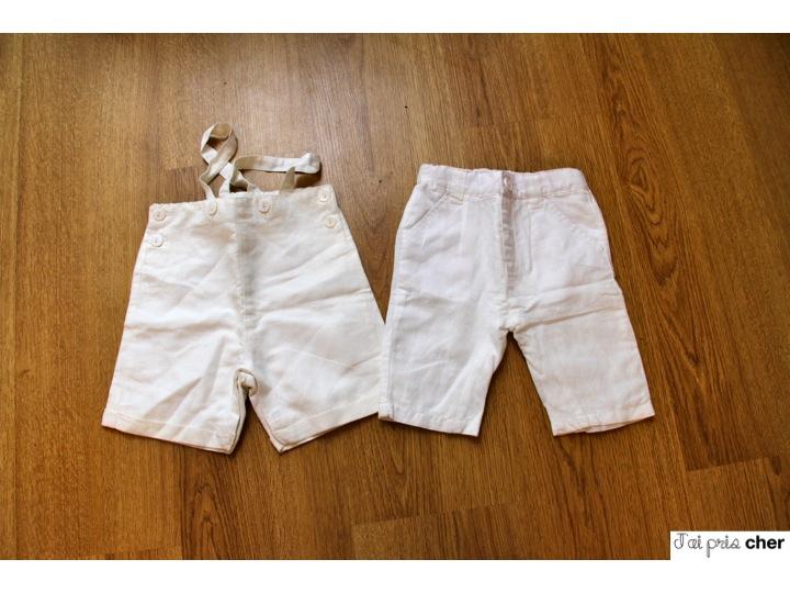 pantalon en lin pour bébé