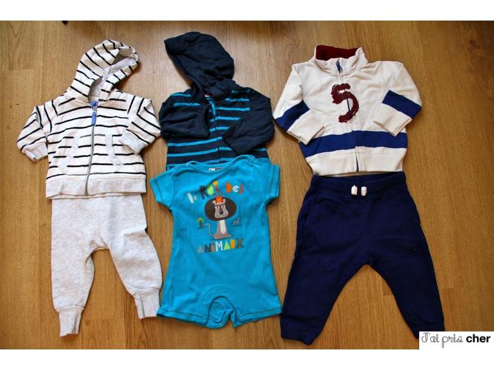 jogging pour bébé H&M