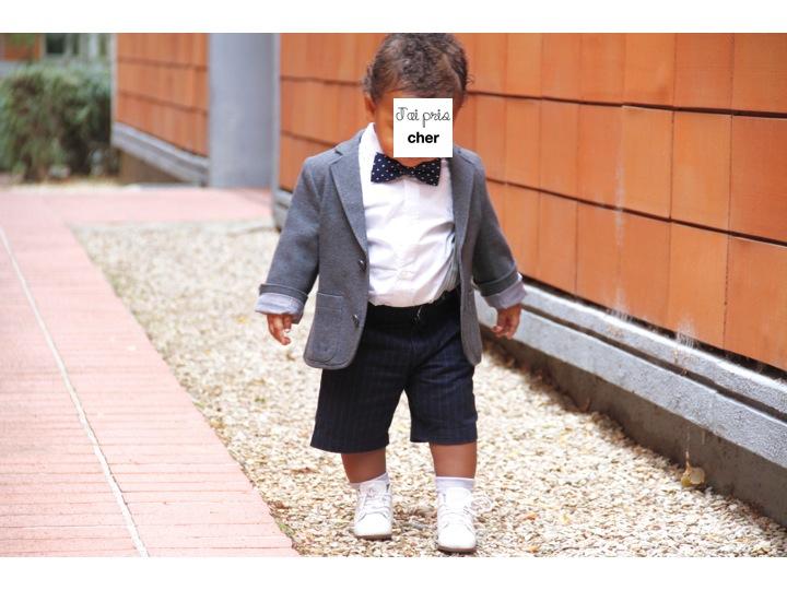 tenues de mariage pour bébé