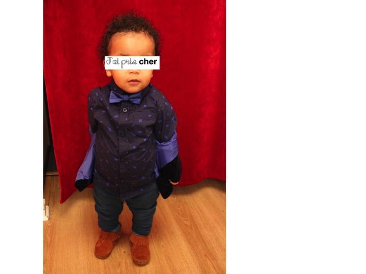 jeans slim pour enfant