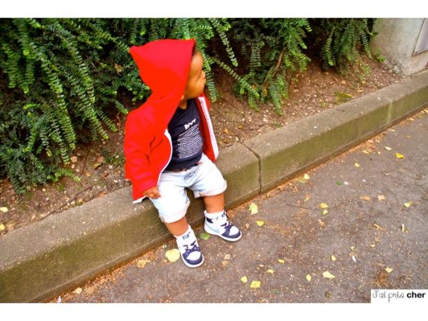 hoodie rouge