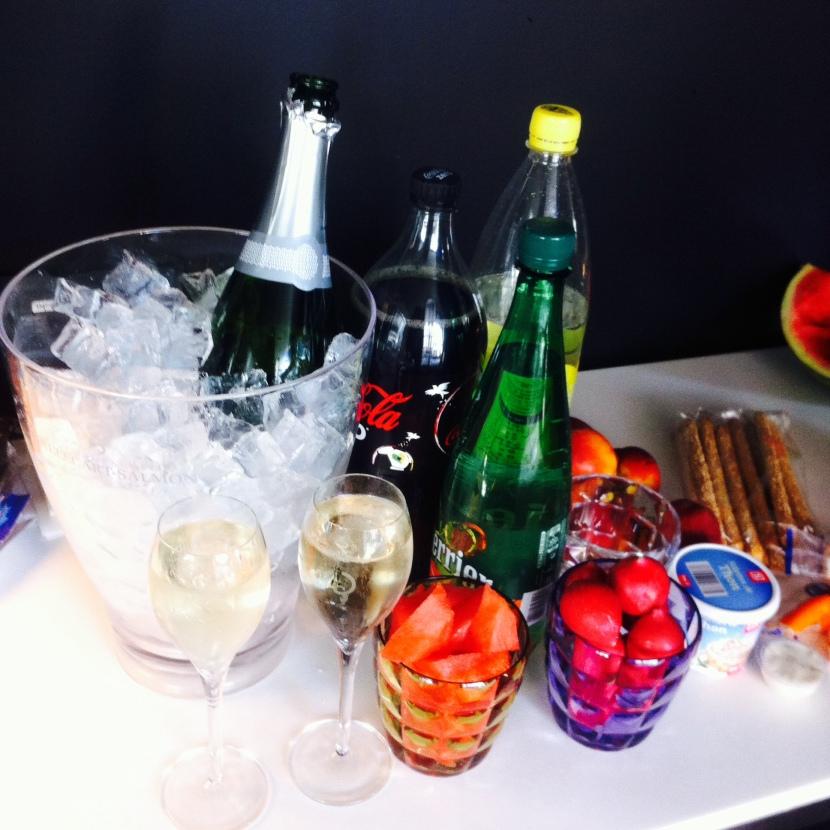 apero champagne