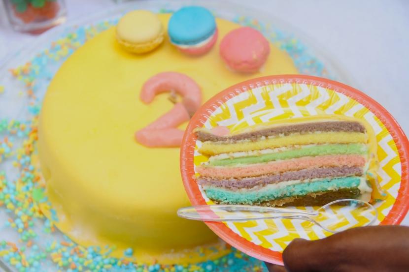 the rainbow cake 1