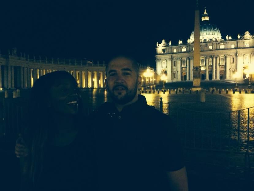 le vatican la nuit