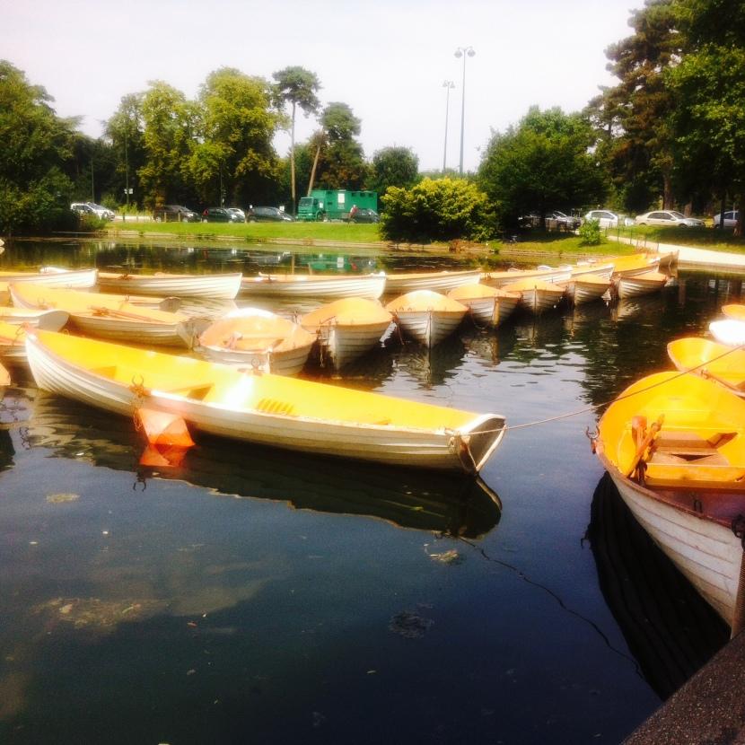 les barques du bois de boulogne