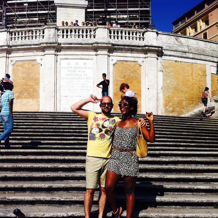 place de l'espagne Rome