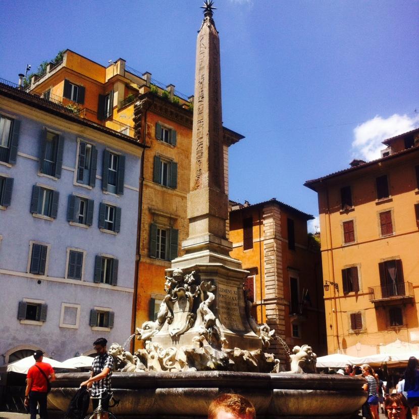 place du pantheon rome