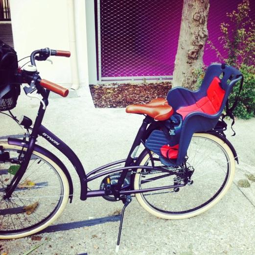 siege de vélo bébé