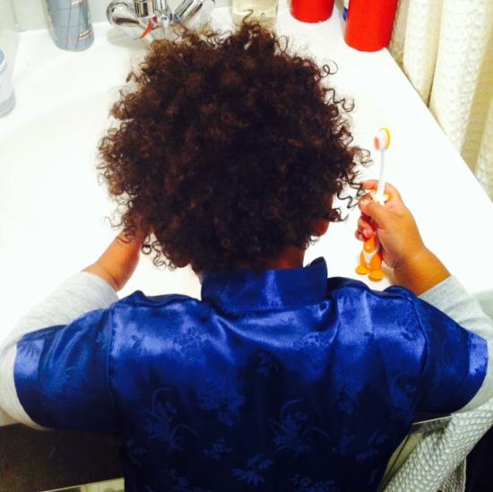 cheveux enfant métis
