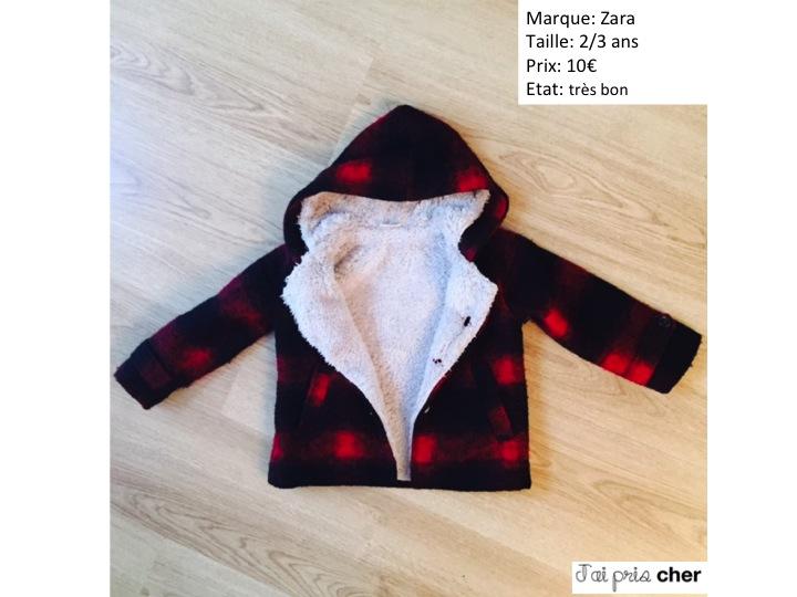 manteau Zara